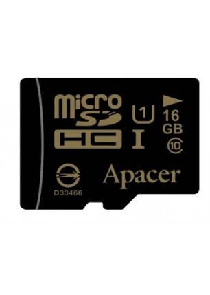 Карта памяти Apacer microSDHC 16GB UHS-I Class 10 + SD-adapter (AP16GMCSH10U1-R) , фото 2