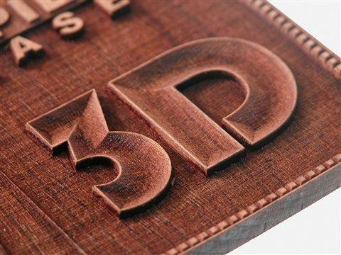 3D фрезеровка на МДФ панелях