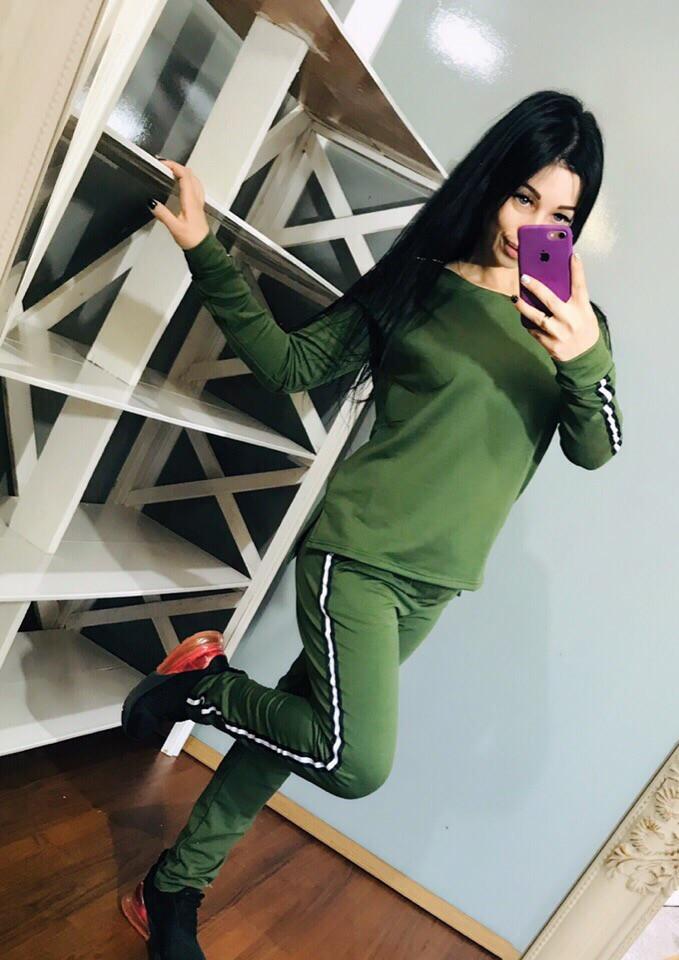Женский модный костюм ЛЮ251