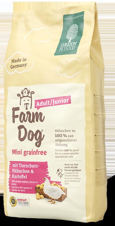 Корм FarmDog Mini Grainfree ФармДог Міні Гранфрі для цуценят і дорослих собак з куркою і картоплею