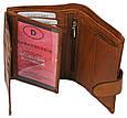 Набор мужской, кошелёк и ремень кожаный  Always Wild Buffalo (PSB-D1072-01-GG) Коричневый, фото 8