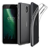 Nokia 6.1 защитный чехол Transparent