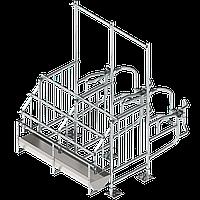 Станкомісце для верстата запліднення тип 31 (Боковина, двері, труби), без годівниці