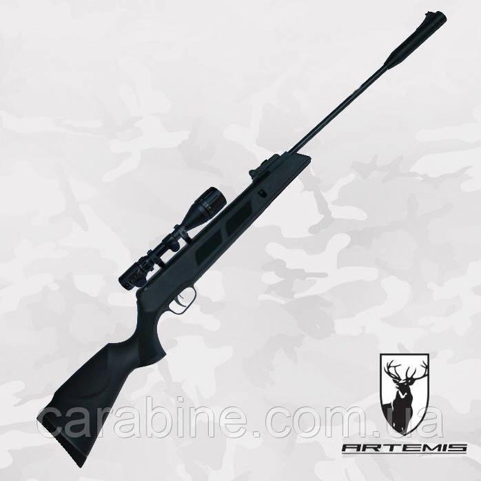 Пневматическая винтовка Artemis SR1000 S NP c газовой пружиной + ПО 3-9x40