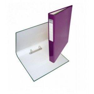Папка 2 кольца А4 ІТЕМ056/04, 40мм, ламинированная, фиолетовая
