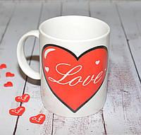 """Керамическая чашка """"Love"""""""