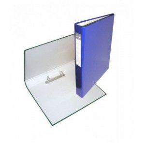 Папка 2 кольца А4 ІТЕМ056/03, 40мм, ламинированная, синяя