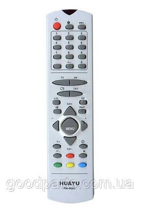 Пульт (ПДУ) Huayu для телевизора Горизонт RM-588C, фото 2
