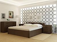 Деревянная кровать с подъёмным механизмом StokgolmPLUS