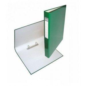 Папка 2 кольца А4 ІТЕМ056/06, 40мм, ламинированная, зеленая