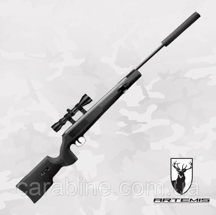 Пневматическая винтовка Artemis SR1250S NP с Газовой пружиной + ПО 3-9x40 (Артемис СР1250)