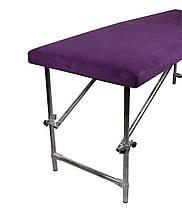 Чохол флісовий  80х200 см фіолетовий