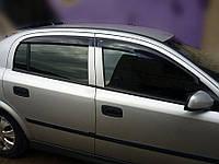"Дефлекторы окон, ветровики OPEL Astra G Sd/Hb 1998-2004 ""EuroStandart""  / Опель Астра Г Cobra, фото 1"
