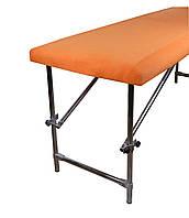 Чохол декоративний  флісовий  100х220 см помаранчевий
