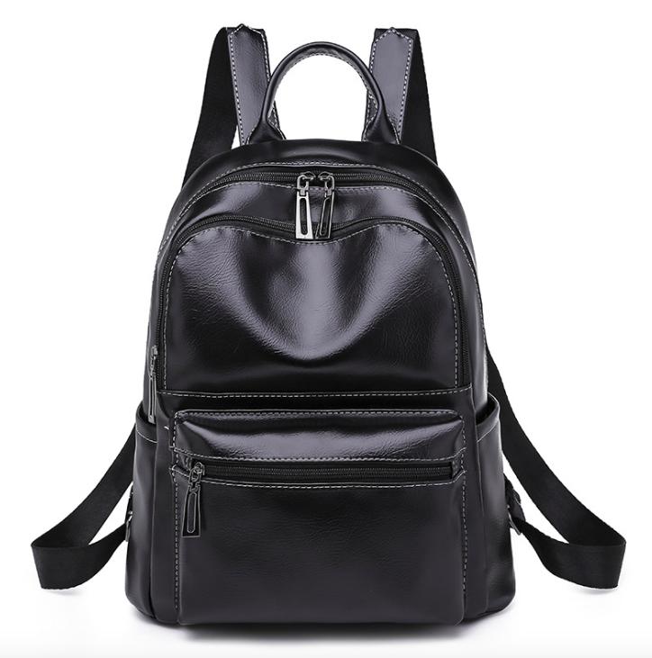923175b2d155 Рюкзак женский кожзам городской Perfect черный - Интернет магазин GoFashion  в Белой Церкви