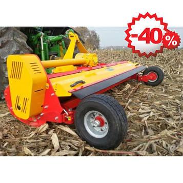 Измельчитель (мульчер) пожнивных остатков кукурузы, подсолнечника,  веток в садах и лозы виноградников ПРР-280