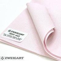 3835/443 Lugana 25 (ширина 140см) блідо-рожевий