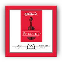 Набір струн для скрипки d'addario J810 4/4H Prelude 4/4H (Жорсткі)