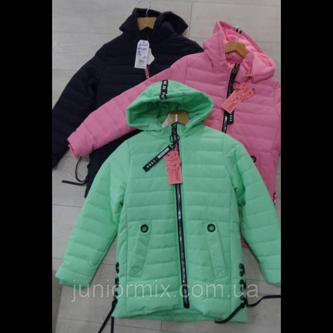 Подростковые демисезонные куртки для девочек оптом GRACE