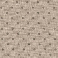3984/7159 Murano Lugana Petit Point 32 (ширина 140см) бежевий в горошок кольору хакі