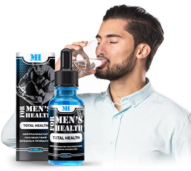 For Men's Health – лекарство для мужчин от вредных привычек