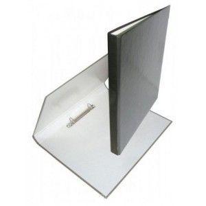 Папка 2 кольца А4 ІTEM356/02, 25мм А4, ламинированная, черный