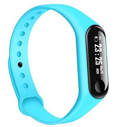 Фитнес-браслет Smart Band M3 Blue Гарантия 1 месяц, фото 2