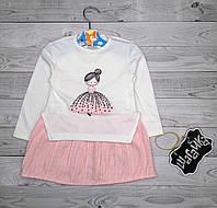 Платье детское нарядное Девочка рост 86