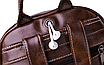 Рюкзак женский кожзам городской Perfect коричневый, фото 8