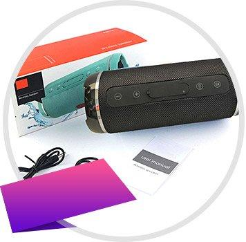 Power Sound акустическая система и PowerBank Remax в подарок