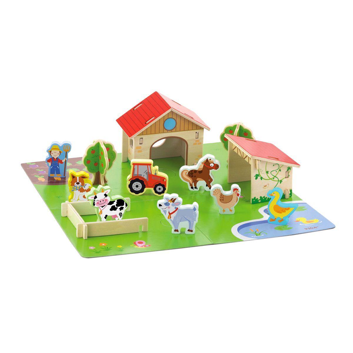 Игровой набор Ферма Viga Toys 50540