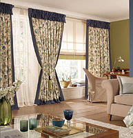 Вибираємо дизайн штор для вітальні: сучасний погляд на дизайн