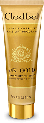 Золотая маска Cledbel Ultra Lift 24K Gold
