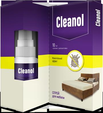 Клеанол - комплекс для очистки дома от пылевых клещей