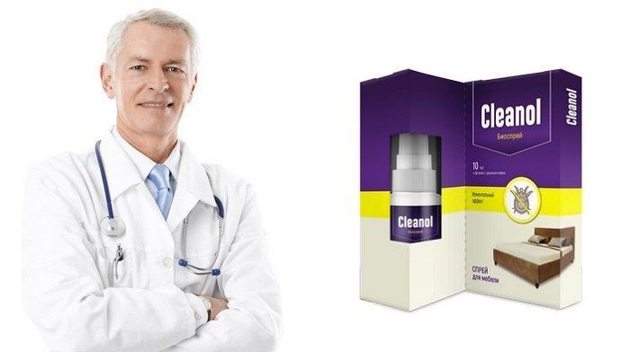Клеанол - средство от пылевых клещей