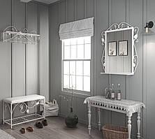 Комплект Хилтон (Пуф+вешалка+зеркало). ТМ Тенеро