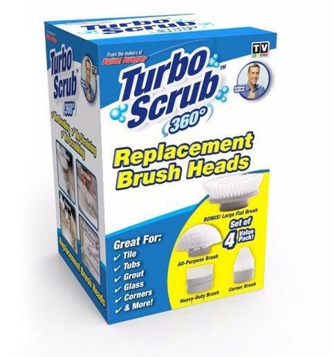 Универсальная чистящая щетка Turbo Scrub 360