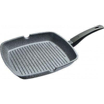 Сковорода гриль Fissman Grey Stone 28x28см (4978)