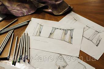 Дизайн и пошив штор от магазин штор Tanova