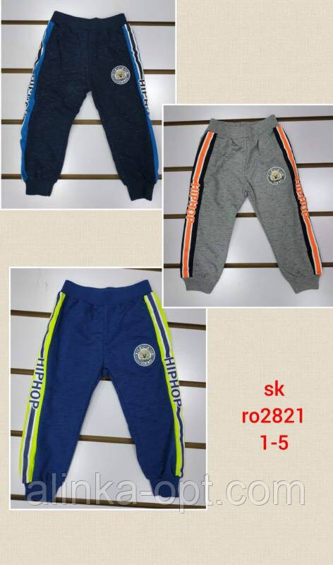 Спортивные брюки для мальчиков Setty Koop оптом, 1-5 лет.