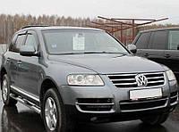 Дефлекторы окон, ветровики Volkswagen Touareg I 2003-2007; 2007  / Фольксваген Туарег Cobra, фото 1