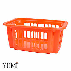 Пластиковый контейнер для хранения латексных шаров оранжевый
