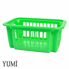 Пластиковый контейнер для хранения латексных шаров зеленый