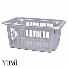 Пластиковый контейнер для хранения латексных шаров серый