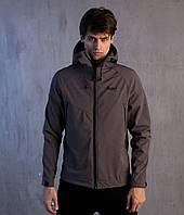 Мужская осенняя куртка Pobedov Soft Shell Jacket Grey