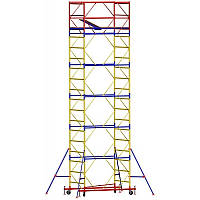 Вишка - туру - ширина 2,0 м, довжина 2,0 м, висота настилу - 11,4 м, робоча висота - 13,4 м