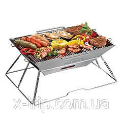 Гриль на углях Kovea Magic II Stainless BBQ KCG-0901