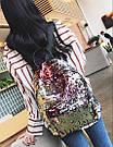 Рюкзак с пайетками меняющий цвет золотой Mojoyce (495\4), фото 4