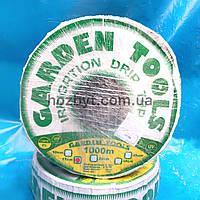 """Капельная лента """"Garden tools"""" 1000м/10,15,20,30,45см. (Украина) капельный полив"""