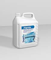 Альгицид против водорослей, грибка и бактерий SeptEx Algicide 5л, не пенится
